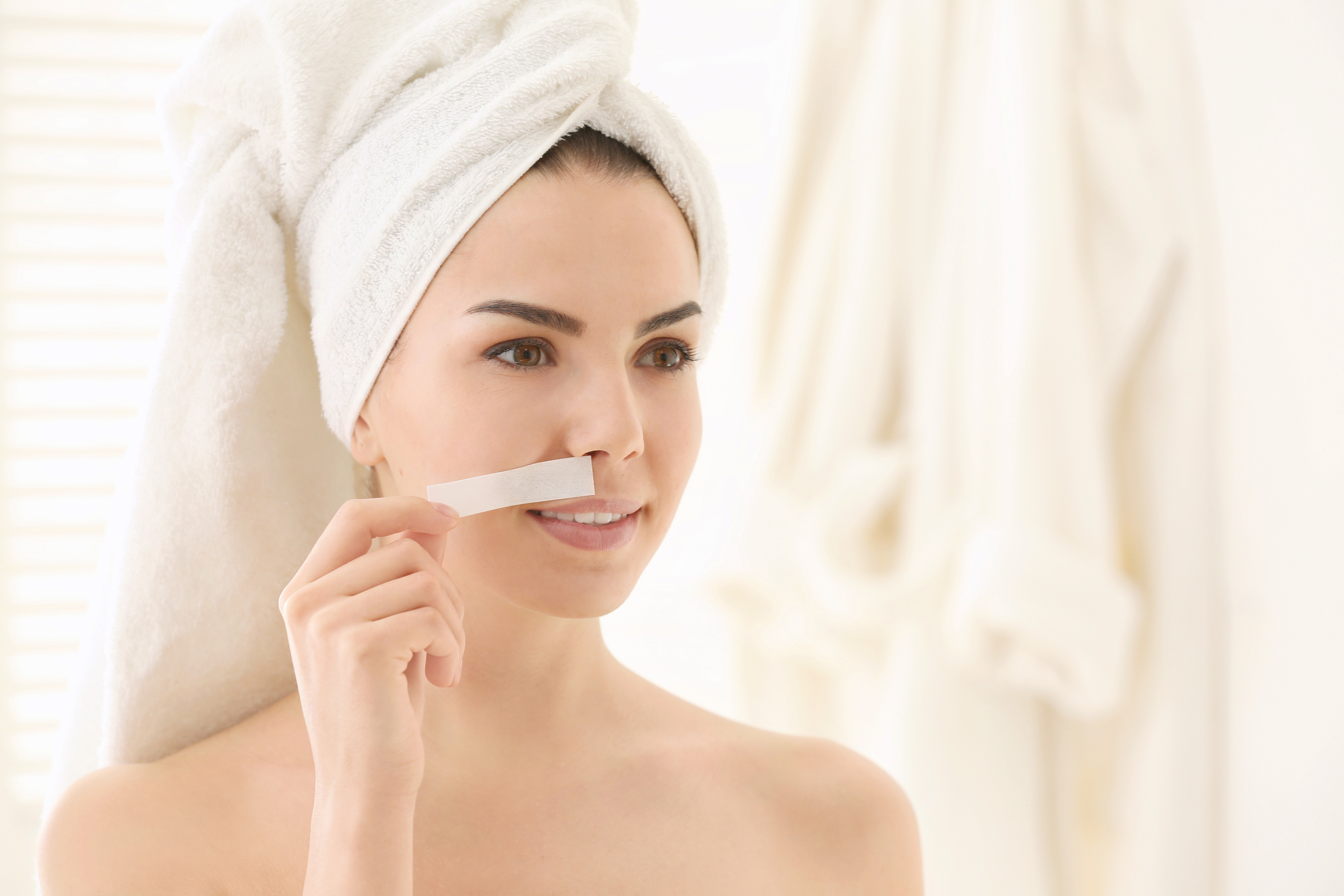 Cosmetics causing unwanted facial hair growth